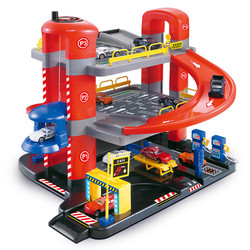 Edukacyjne zabawki dla dzieci wagon kolejowy 3 6 lat chłopiec mały samochód zmontowany regulowany trzywarstwowy zestaw parkingowy w Manometry od Narzędzia na