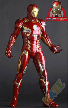 Avengers: Age of Ultron Iron Man Mark45 Figure Model Toys Collection Marvel Iron Man Figure Toy Model 30cm in Box