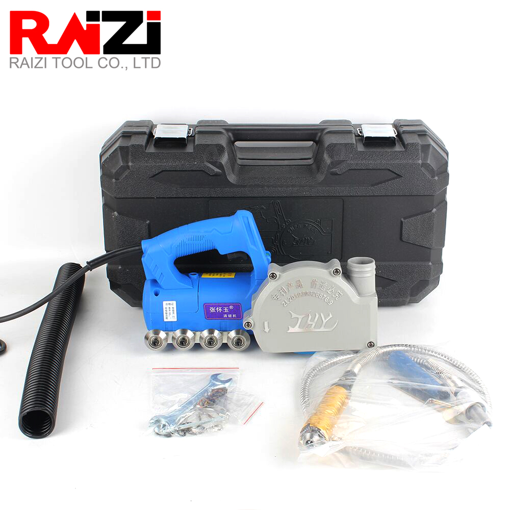 raizi 220v electric ceramic tile gap grout cleaner machine 850w 1200w grout tile slot cutting removal tools