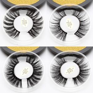 Image 1 - MB Z חדש מינק ריסים 3D 100% מינק ריסים עבה בעבודת יד מלא רצועת שווא ריסים אכזריות משלוח יוקרה איפור דרמטי עין lashe