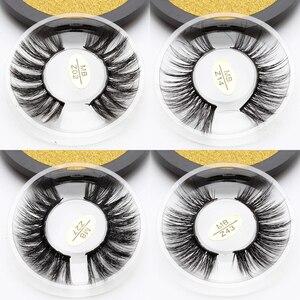 Image 1 - MB Z New Mink Eyelashes 3D 100% Mink Lashes Thick HandMade Full Strip False Lashes Cruelty Free Luxury Makeup Dramatic Eye Lashe