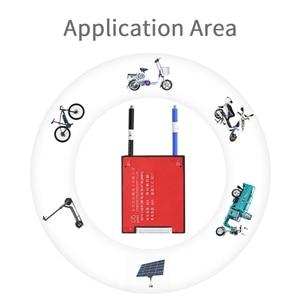 Image 4 - 12S 36V BMS 15A 20A 30A 40A 50A 60A dla 3.2V akumulator litowy 18650 LiFePO4 akumulator ze wspólnym i oddzielnym portem