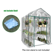 Greenhouse-Cover Garden Household-Plant Plastic Outdoor Pvc-Cover Floors Fiver Growbag