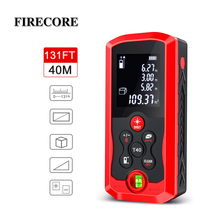 FIRECORE 40m(131ft)70m(230ft)100m(328ft) Laser Distance Meter Laser Rangefinder Distance LCD Backlight Measurer Tool(m/ft/in)