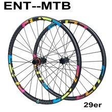 Колеса для горных велосипедов ELITE 29er шириной 30 мм, карбоновые колеса для горных велосипедов, прямая Тяговая втулка, 29, Elite M11