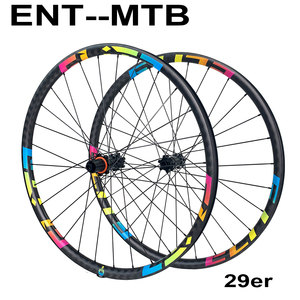 Image 1 - Колеса для горных велосипедов ELITE 29er шириной 30 мм, карбоновые колеса для горных велосипедов, прямая Тяговая втулка, 29, Elite M11