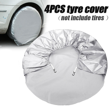 For Truck Trailer RV Camper Motorhome 4pcs/set Car Wheel Tire Cover Waterproof Auto Tyre Bag 69x24cm Mayitr