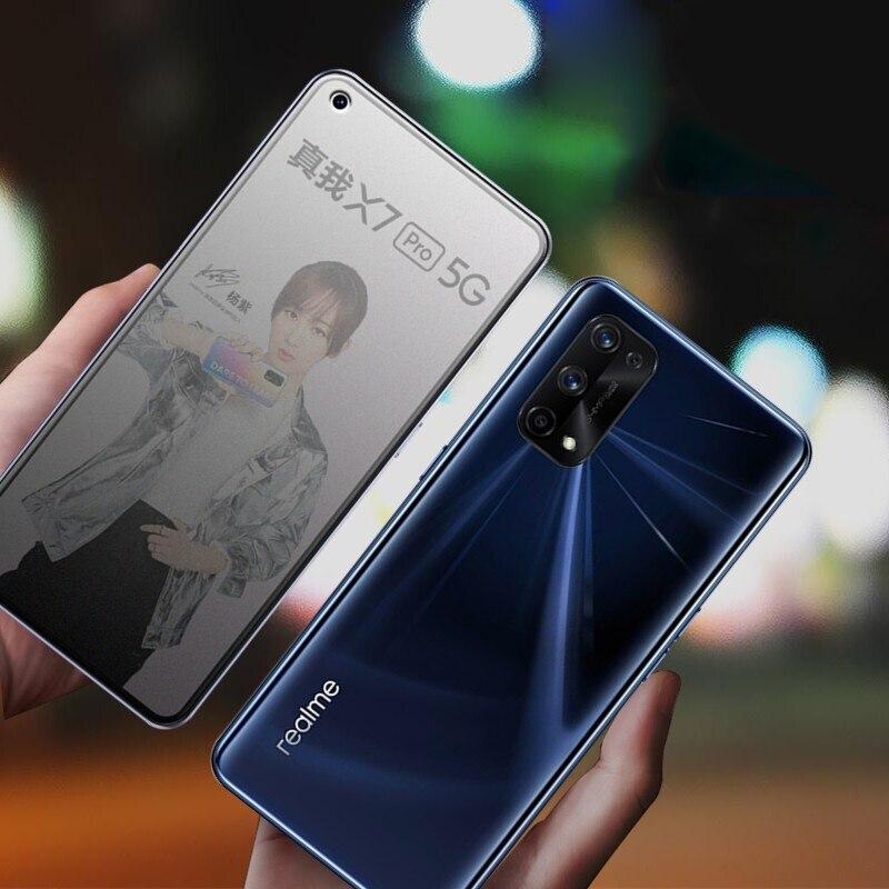 Para realme x7 x50 pro fosco fosco protetor de tela de vidro temperado para realme x50 pro jogador 5g x7pro x50m vidro protetor