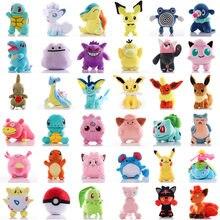 Anime pokemoned imagen juguetes muñeco de peluche pikachues juguetes de peluche Charmander Squirtle Bulbasaur Jigglypuffs Eevee Pokemon bebé gif