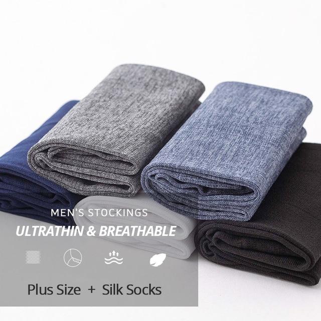 HSS Brand 10Pairs Men Summer High Quality Business Casual Thin Socks 1