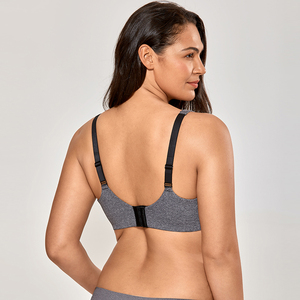 Image 3 - Для женщин Бесшовные полный охват косточках без подкладки размера плюс Бюстгальтер Minimizer