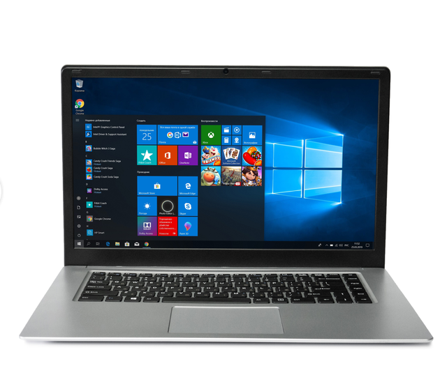 15.6 Inch Laptop Pc Intel I7 Laptop Computer With SSD HDD 128GB Laptop