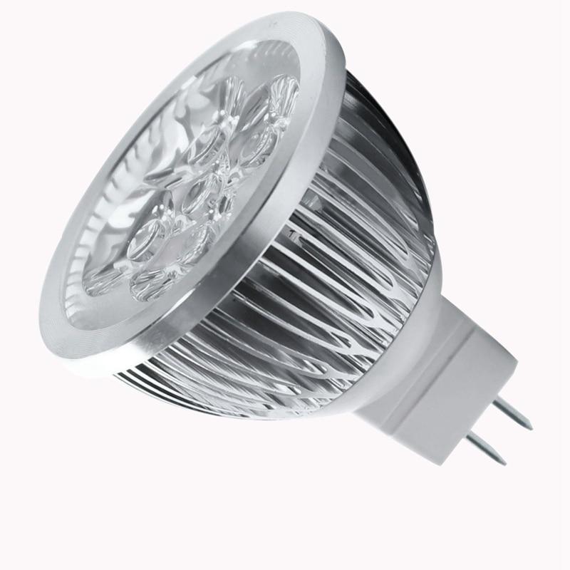 4W Dimmable MR16 LED Bulb/3200K Warm White LED Spotlight/50 Watt Equivalent Bi Pin GU5.3 Base/330 Lumen 60 Degree Beam Angle for