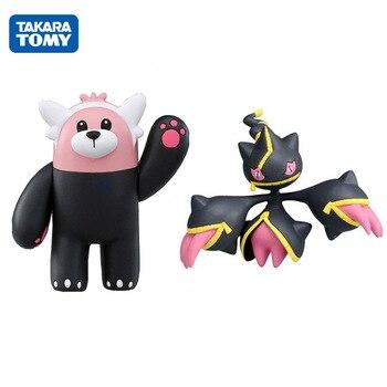 TAKARA TOMY Pokemon Cartoon Mega Banette Bewear Figures Model Action Collectible Gifts for Kids Car Decoration блуза bewear bewear be084ewazbe3