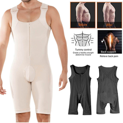 Men Waist Trainer Vest Bodysuit Man Shaper Cincher Corset Male Body Modeling Belt Slimming Strap Fitness Shapewear Body Shapers