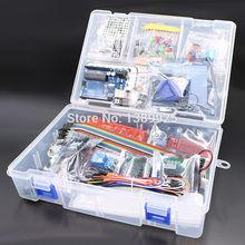 소매 상자 RFID 스타터 키트 Arduino UNO R3 업그레이드 버전 학습 스위트 도매 무료 배송 1 set