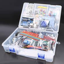 Com Caixa de Varejo RFID Starter Kit para Arduino UNO R3 versão Atualizada 1 Suíte Aprendizagem Frete Grátis Por Atacado conjunto