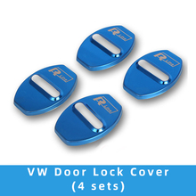 mofan vw sagitar door lock buckle new LaVida Passat Tiguan CC car cover modification universal rust