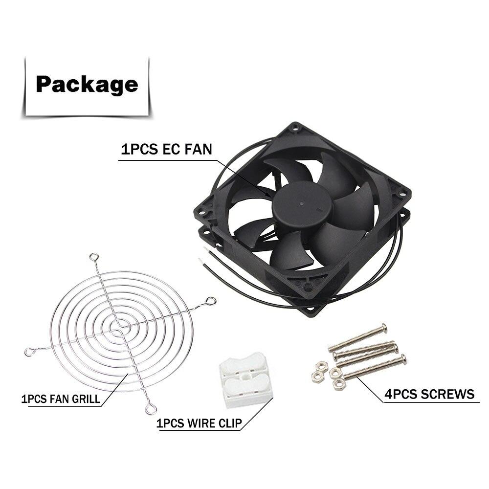Ce ventilador axial 60mm 80mm 90mm 120mm