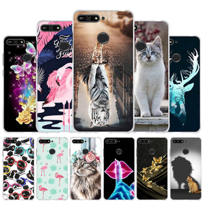 For Funda Huawei Honor 7A / 7A Pro Case Cover For Huawei Y6 Y 6 Prime 2018 Case Silicone TPU Cover For Honor 6a Pro Capa Bumper(China)