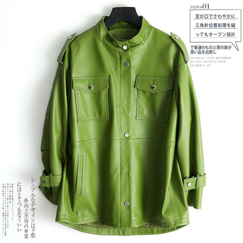 Tcyeek100 % куртка из натуральной кожи женская одежда 2020 модное женское пальто из натуральной кожи женская уличная одежда Moto Chaqueta Mujer 3047|Кожаные куртки|   | АлиЭкспресс