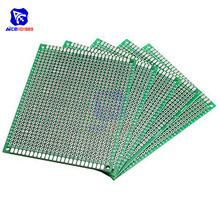 diymore 5PCS/Lot 7x9cm Universal Printed Circuit Board Double Sided Prototype FR-4 PCB Board 70*90mm