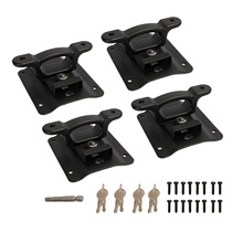 4pcs Bed Tie Down Anchors with Plates Compatible with Ford F250 2015-2021 FL3Z-9928408-AB FL3Z99000A64B
