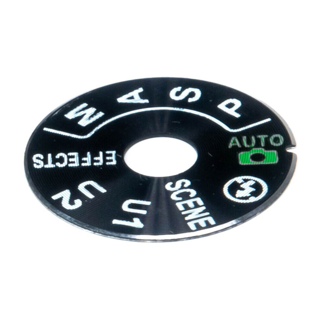 For Nikon D7100 D7200 Top Cover Dial Mode Flash Scene Effects Time Cover Camera DIY Parts Replacement Parts