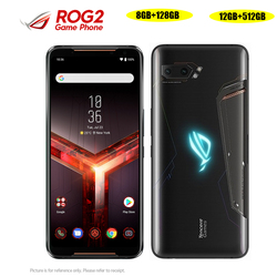 Перейти на Алиэкспресс и купить asus rog phone ii zs660kl mobile phone 6.59дюйм. 8/12gb ram 128/512gb rom snapdragon855+ dual sim 6000mah nfc android9.0 rog phone 2