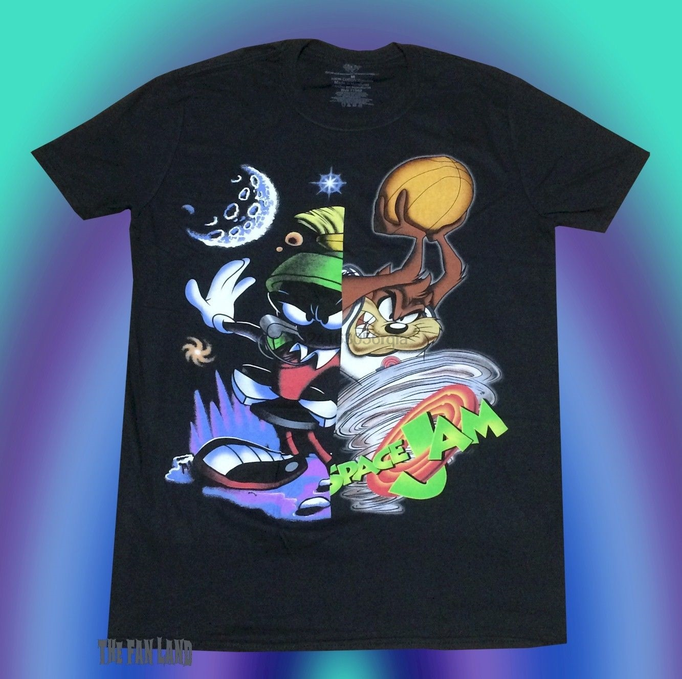 Boys Looney Tunes 3-4 Years T-shirt Marvin the Martian Grey