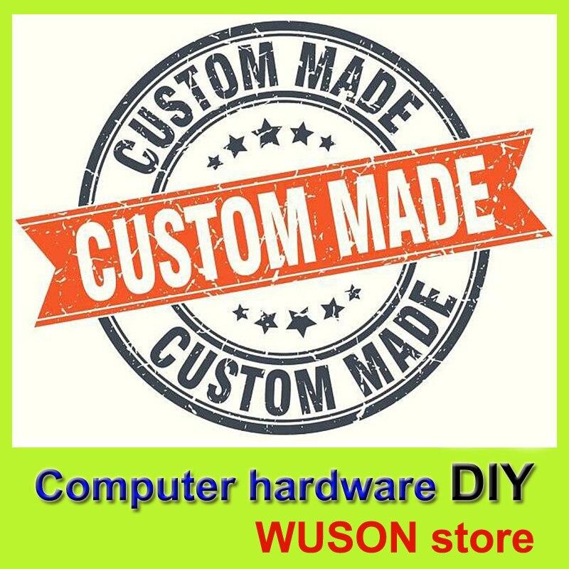 Matériel informatique bricolage carte mère/CPU/RAM/GPU/HDD/SSD/ALIMENTATION/boîtier PC faisceaux sur mesure WUSON magasin-ordinateur bricolage un service d'arrêt