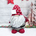Faceless Santa Plush Dolls Christmas Decoration Gnome Tomte Toy Gift for Kids Birthday New Year Navidad Party Ornaments Decor