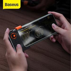 Baseus PUBG Mobile Gamepad Wireless Joystick Game Controller Bluetooth Joystick For IOS Android Mobile Phone Game Pad GAMO