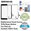 ORIWHIZ タッチスクリーンとボタンホームとダクトテープアップルの ipad 2/3/4 ミニ 1 2 3 空気 1 黒と白のカラー対応