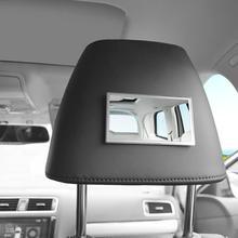 Автомобильное косметическое зеркало из нержавеющей стали портативное солнцезащитное зеркало для макияжа практичное автомобильное внутреннее