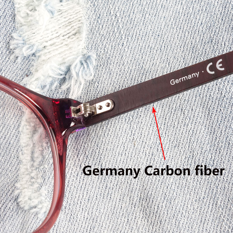 Image 3 - Women glasses frame teenage girls acetate Germany premium quality-in Women's Eyewear Frames from Apparel Accessories