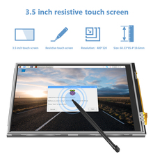2021 hote sale JRP3509 LCD module pi zero/2/3/4 touch screen monitor raspberry pi display 3.5inch