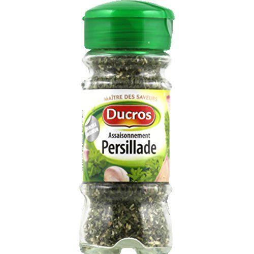 Ducros - Assaisonnement Persillade, Opercule Fraîcheur - Le Flacon De 43g - (for Multi-item Order Extra Postage Cost Will Be