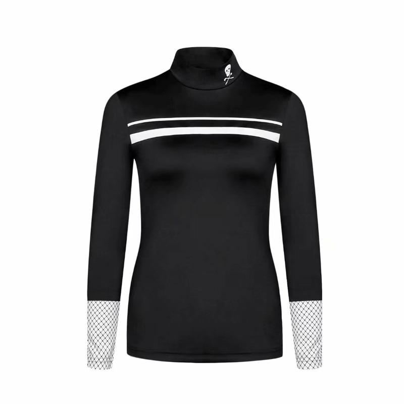 New Swirling Golf T-Shirt MARK&LONA Golf Women's Fall Winter Warmer Underwear Quick Dry T-Shirt Free Shipping