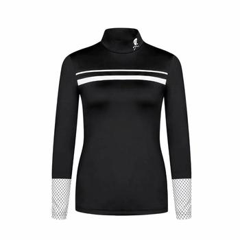 Nowy wirujące t-shirt do golfa zaznacz i LONA Golf damski jesień ocieplacz na zimę bielizna szybkoschnąca koszulka darmowa wysyłka tanie i dobre opinie SwirLing WOMEN SILK Poliester Pełna Anty-pilling Przeciwzmarszczkowy Oddychające Szybkie suche Koszule Pasuje prawda na wymiar weź swój normalny rozmiar
