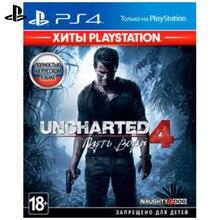 Игра для Sony PlayStation 4 Uncharted 4: Путь вора(Хиты PlayStation)(русская версия