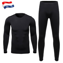 HEROBIKER Mens Thermal Underwear Sets Outdoor Sports Hot-Dry Winter Warm Thermo Bicycle Skiing Long Johns Base Layers