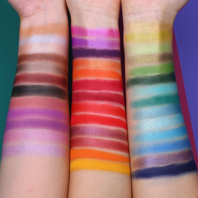 UCANBE Spotlight+Fruit Pie Filling Eye Shadow Palette Makeup Set Shimmer Glitter Matte Pigment Powder Pressed Eyeshadow 2pcs/lot 3