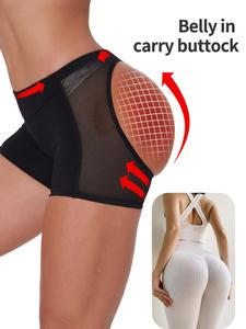Shorts Panties Shapewear Underwear Butt-Lifter Body-Shaper Tummy-Control Sexy Lace