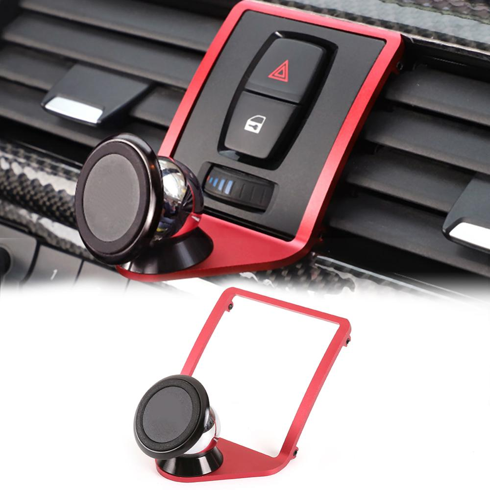 Smart Phone Holder Bracket Mount For BMW X1 Carbon look