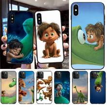 NBDRUICAI The Good Dinosaur Customer High Quality Phone Case for iPhone 11 pro XS MAX 8 7 6 6S Plus X 5S SE XR case ботинки the good dinosaur