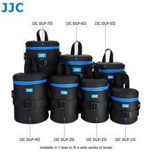 JJC Polyester Fibre Waterproof Camera DSLR Lens Pouch JBL Xtreme Bag Deluxe Soft Case with Belt for Canon Sony Nikon Olympus(China)