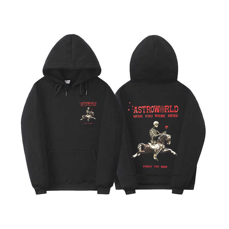 Hommes printemps automne Astroworld Hoodies Travis Scott Designer sweats à capuche pulls