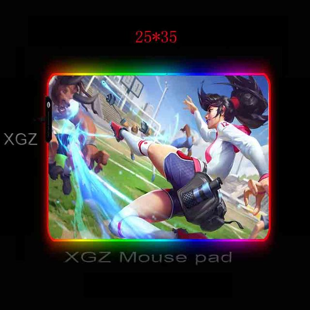 Фото большой игровой коврик для мыши mairuigee miss running sister