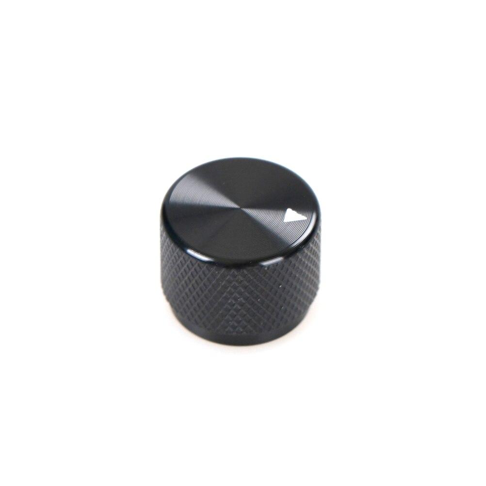 1Pcs Potentiometer Knob Audio Volume Knob Encoder Knob 20*15.5 Black Aluminum Alloy Potentiometer Knob High Quality